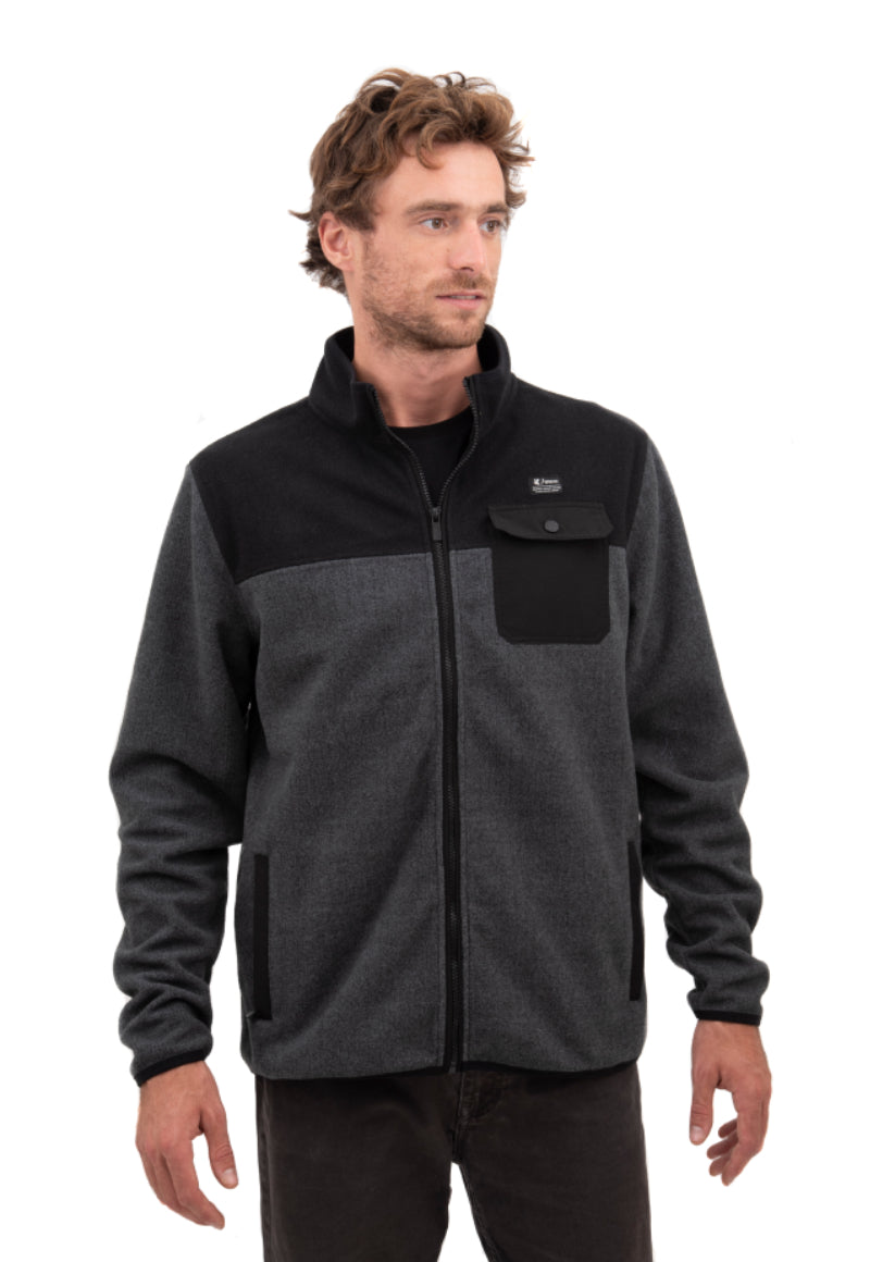 Polar Guayacan Full Zipper Gris