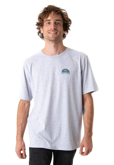 POLERA F SURF GRIS CORONA BY FROENS Hombre FroensCL