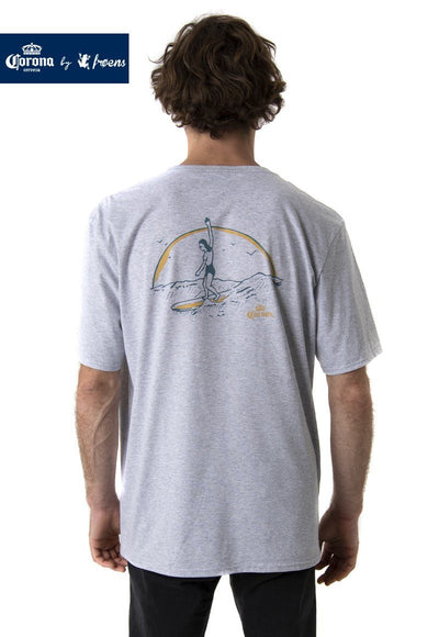 POLERA SURF GRIS CORONA BY FROENS Hombre FroensCL
