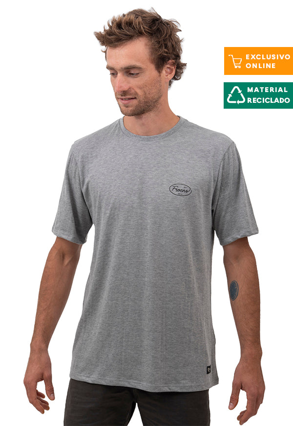 Polera MC Old Gris Melange