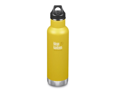 Botella Kleen Kanteen 20OZ CLASSIC INSULATED LEMON CURRY Accesorios Frøens