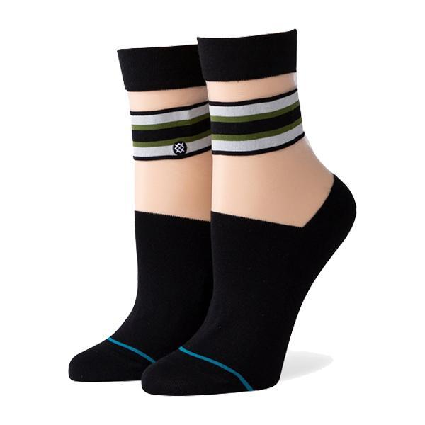 Calcetin Stance JOAN QTR BLACK MUJER Accesorios FroensCL