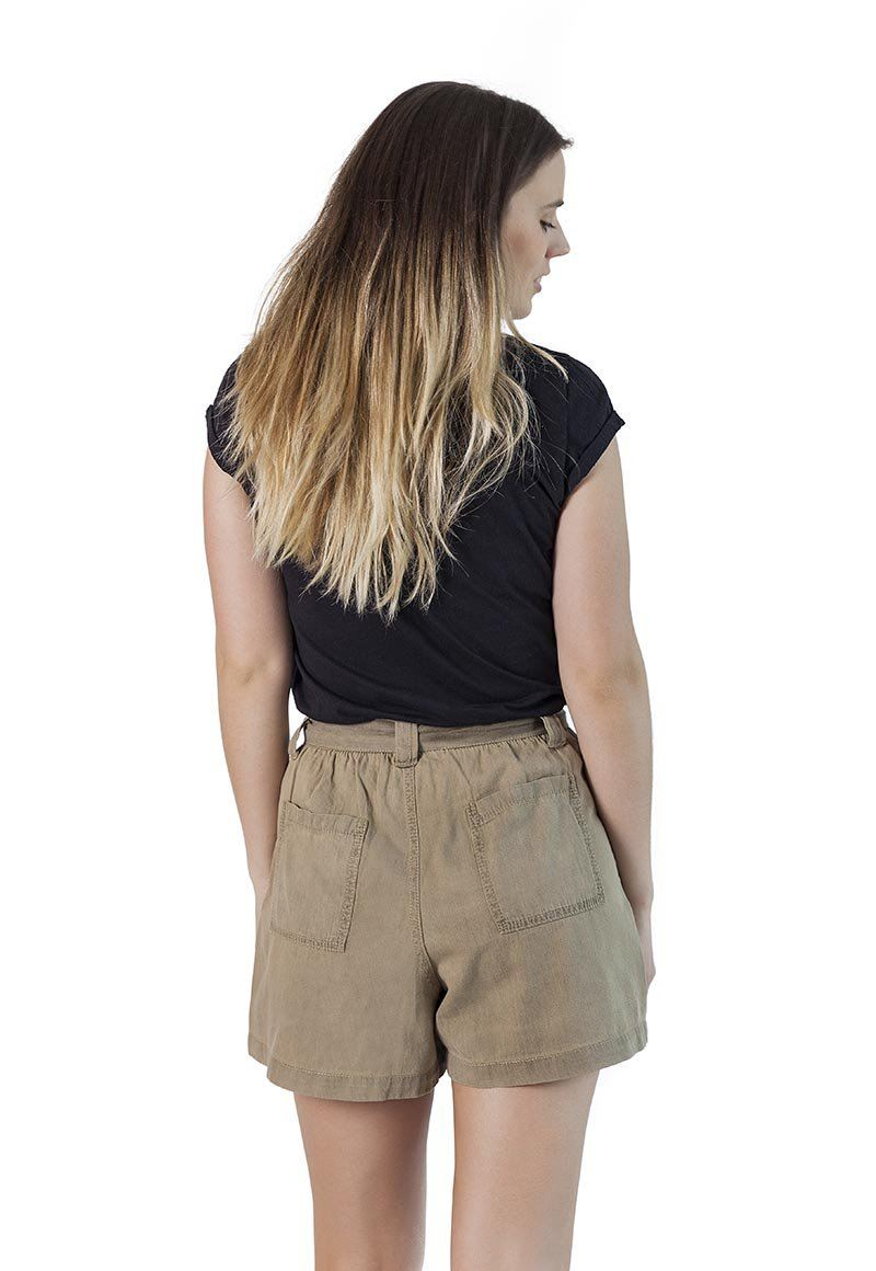 Short Nudo Verde Mujer FroensCL
