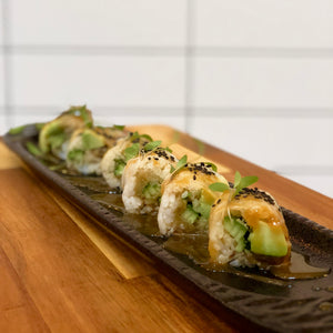 Miso Grilled Eggplant Roll