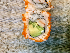 Inside-out California Sushi Rolls
