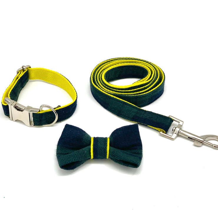 Classic tartan dog leash - dropship