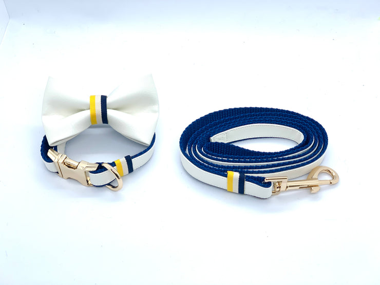 Sunrise bow tie-Full set- XS-Puccissime Pet Couture