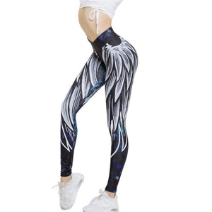 New Angel Wings Leggings - CLASSIQUE WEAR-