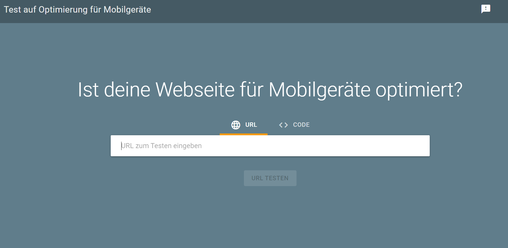 Mobile Friendly Test Tool_inara schreibt