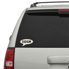 Quote Bubble Window Decal