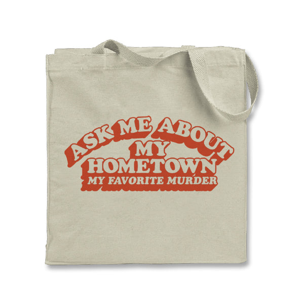 Hometown Tote Bag (Natural)