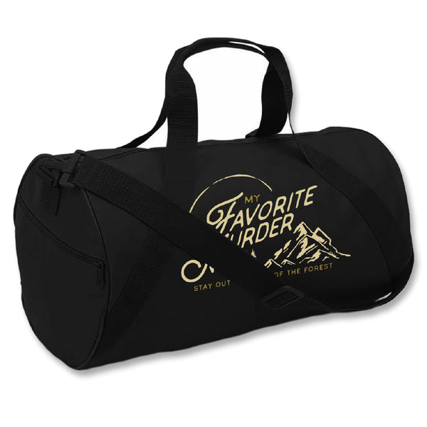 Mountain Embroidered Duffel Bag