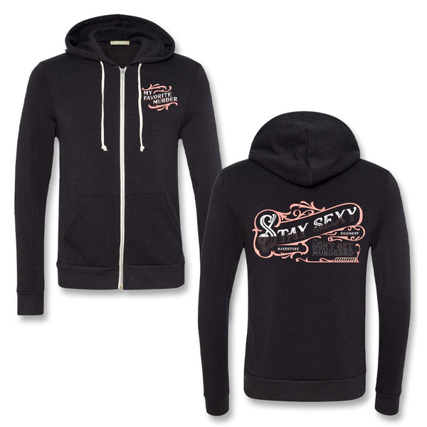 Sign Painter Zip Up Hoodie