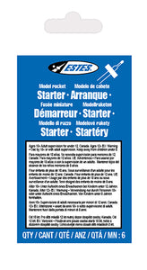 Estes - Model Rocket Igniters - 6-Pack (2302) - the-pennsy-station-llc