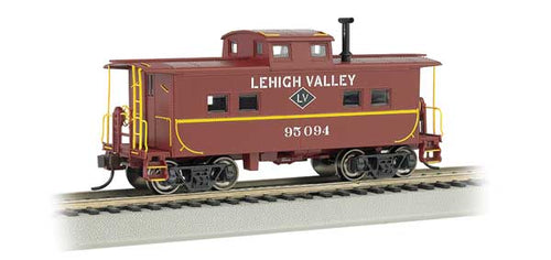 Bachmann - Rolling Stock - Lehigh Valley #95094 Caboose - HO Scale (16815) - the-pennsy-station-llc