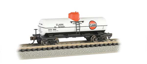 Bachmann - Rolling Stock - Clark Single Dome Tank Car - N Scale (17857) - the-pennsy-station-llc