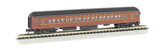 Bachmann - Rolling Stock - PRR Passenger Car #4535 - N Scale (13752) - the-pennsy-station-llc