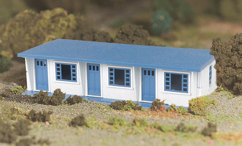 Bachmann - Plasticville Motel Kit - O Scale (45616) - the-pennsy-station-llc