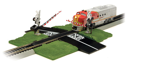 Bachmann - E-Z Track - Dual Crossing Gates - N Scale (44879) - the-pennsy-station-llc