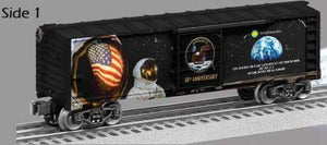 Lionel - Moon Landing  50th Anniversary Boxcar - O Scale (1938450) - the-pennsy-station-llc