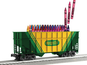Lionel - Crayola Hopper w/ Crayons - O Scale (3-17703) - the-pennsy-station-llc