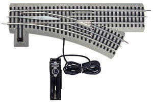 Lionel - Fastrack O48 Right-Hand R/C Switch - O Scale (6-16831) - the-pennsy-station-llc
