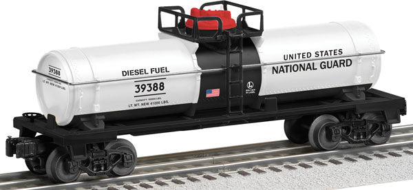 Lionel - USA National Guard Tank Car - O Scale (6-39388) - the-pennsy-station-llc