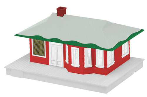 Lionel A/F - Winter Station - S Scale (6-49979) - the-pennsy-station-llc