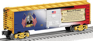 Lionel - USA President Harry Truman Boxcar - O Scale (6-25933) - the-pennsy-station-llc