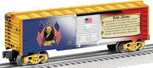Lionel - USA President John Adams Boxcar - O Scale (6-25930) - the-pennsy-station-llc