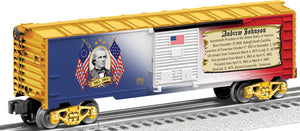 Lionel - USA President Andrew Johnson Boxcar - O Scale (6-25931) - the-pennsy-station-llc