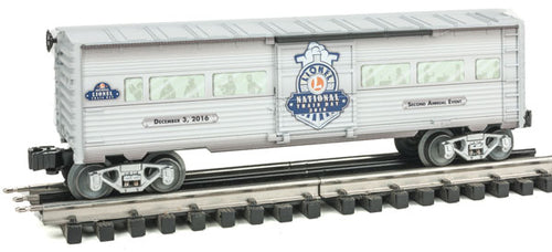 Lionel - 2016 National Lionel Train Day Boxcar - O Scale (6-83498) - the-pennsy-station-llc