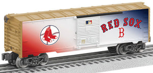 Lionel - Cooperstown Red Sox Boxcar - O Scale (6-83491) - the-pennsy-station-llc