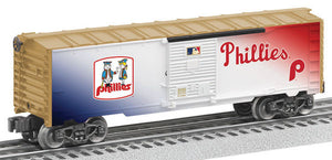 Lionel - Cooperstown Phillies Boxcar - O Scale (6-83493) - the-pennsy-station-llc