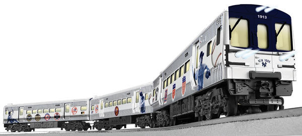 Lionel - Lionchief New York Yankees Subway Set - O Scale (6-83648) - the-pennsy-station-llc
