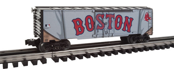Lionel - Red Sox Jersey Boxcar - O Scale (6-83759) - the-pennsy-station-llc