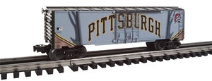 Lionel - Pirates Jersey Boxcar - O Scale (6-83761) - the-pennsy-station-llc