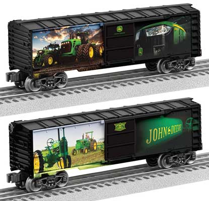 Lionel - John Deere Boxcar - O Scale (6-83944) - the-pennsy-station-llc