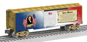 Lionel - USA President James Madison Boxcar - O Scale (6-82945) - the-pennsy-station-llc