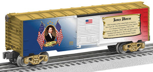 Lionel - USA President James Monroe Boxcar - O Scale (6-82942) - the-pennsy-station-llc
