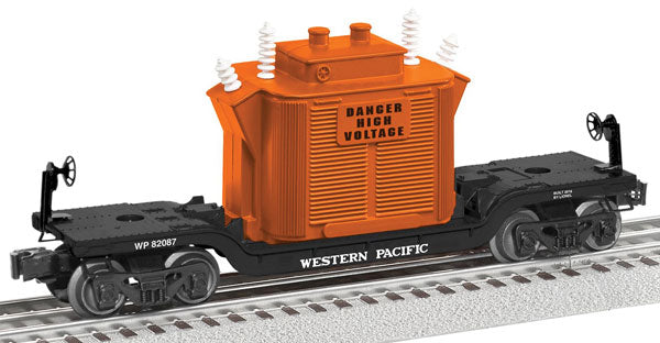 Lionel - Flat Car - WP Depressed Center Flatcar - O Scale (6-82087) - the-pennsy-station-llc