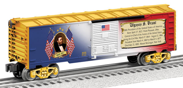 Lionel - USA President Ulysses Grant Boxcar - O Scale (6-82334) - the-pennsy-station-llc