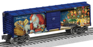 Lionel - Angela Trotta 2016 Christmas Boxcar - O Scale (6-82678) - the-pennsy-station-llc