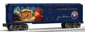 Lionel - Lionelville Christmas Boxcar - O Scale (6-82699) - the-pennsy-station-llc