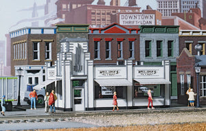 Walthers - Cornerstone Series - White Tower Restaurant Kit - HO Scale (933-3030) - the-pennsy-station-llc
