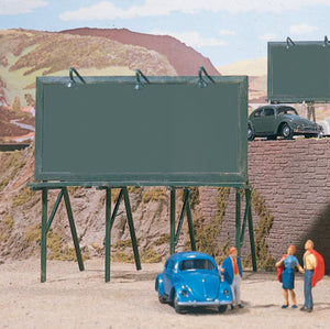 Walthers - SceneMaster - Plain Billboards - HO Scale (949-4250) - the-pennsy-station-llc