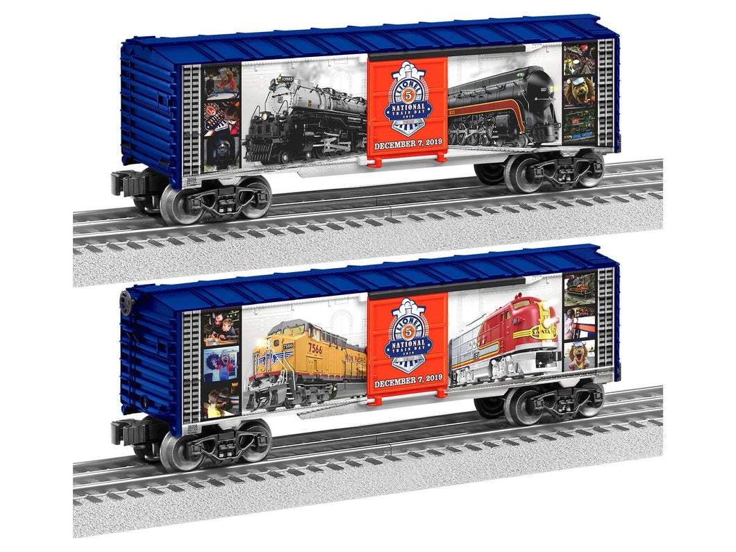 Lionel - 2019 National Lionel Train Day - O Scale (1938350) - the-pennsy-station-llc