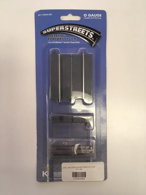Lionel - SuperStreets Adjustable Straight Kit (6-21598) - the-pennsy-station-llc