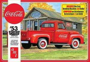 AMT - 1953 Ford Pick-up (Coca-Cola) - Plastic Model Kit (1144)