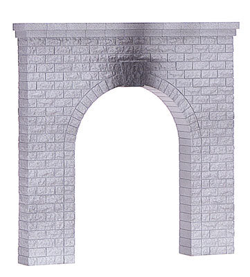 MTH/Railking - Single Tunnel Portal - O Scale (40-9014) - the-pennsy-station-llc